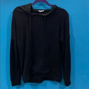 Light, Black pull over sweater